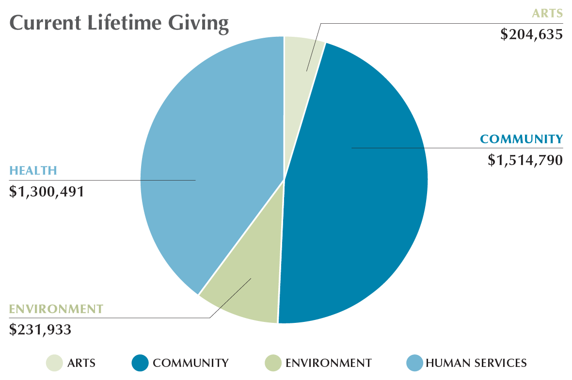 Permanent Endowment Current lifetime grant giving
