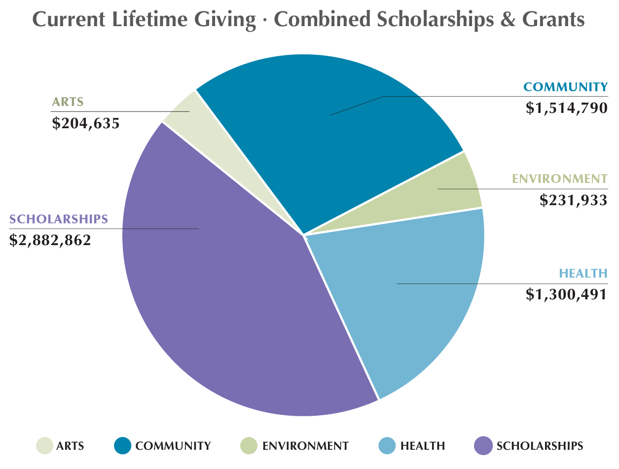 Current lifetime giving - Endowment for Martha's Vineyard