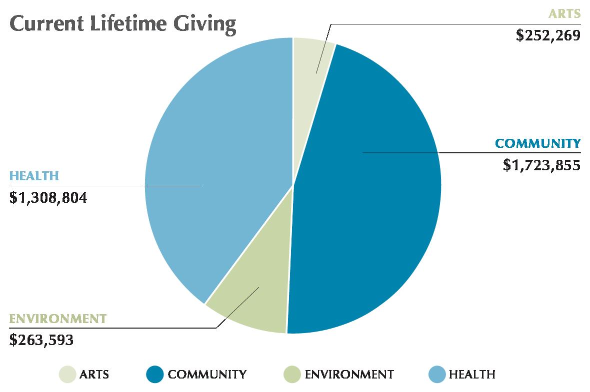 Permanent Endowment Current lifetime grant giving